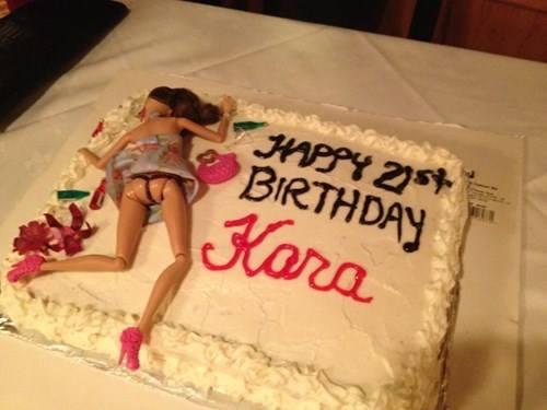 Drunk Slut Birthday Cake