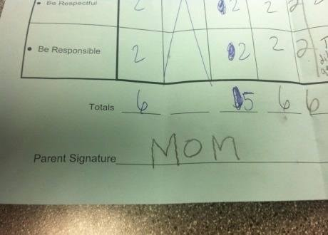 Signed By Dodgy Mom