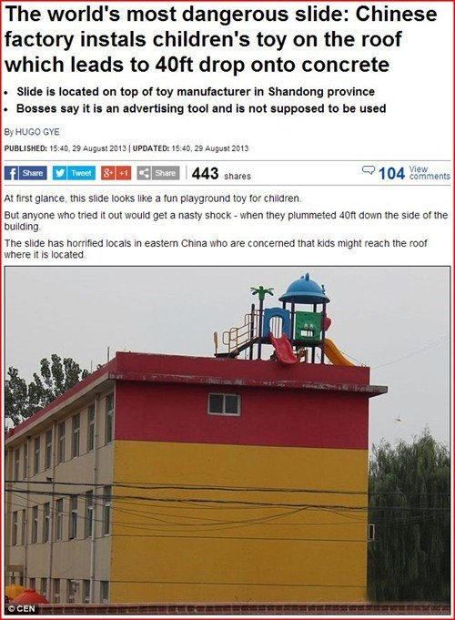 The Worlds Most Dangerous Childs Playground