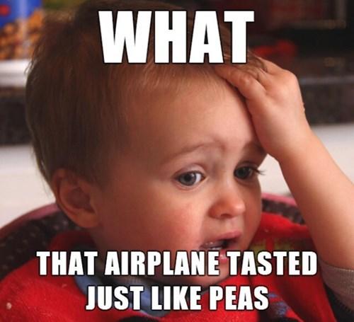 Planes Taste Like Peas