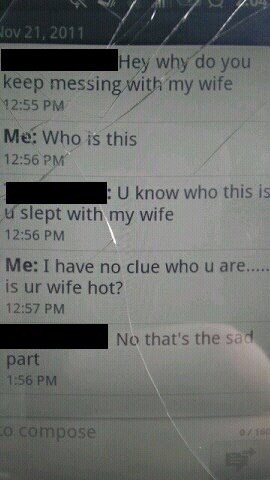 Who Slept With My Wife