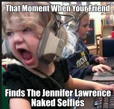 Jennifer Lawrence Naked Selfies