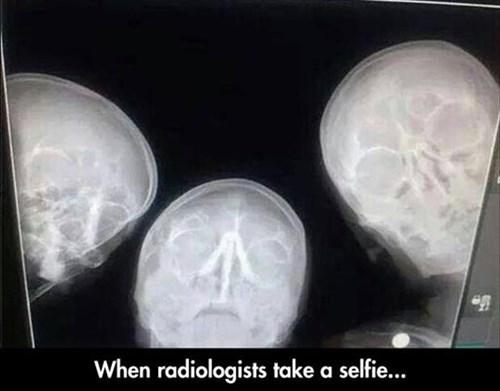 Radiologist Selfie
